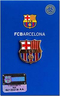 Значок официальный Барселона 1