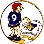 Значок Челси I hate Tottenham