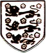 Значок 4 Англия