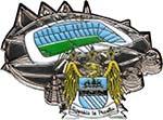 Значок Манчестер Сити Стадион