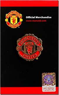 Значок официальный Манчестер Юнайтед 1