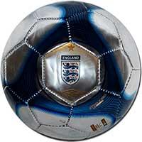 Мяч сувенирный Англия 09 Umbro серебряный