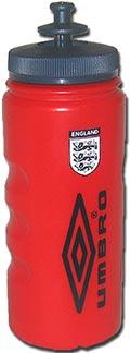 Бутылка для воды Англия 07 Umbro красная
