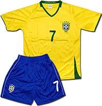 Форма детская Бразилия желтая