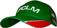 Бейсболка зеленая FCLM