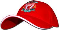Бейсболка красная Ливерпуль