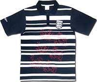 Поло синее сборной Англии Striped 07 Umbro