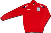 Олимпийка красная сборной Англии 09 Umbro