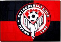 Флаг Амкар 90 х 135