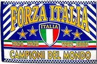 Флаг сборной Италии по футболу