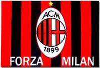 Флаг 1 Милан 60 х 90