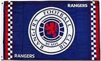 Флаг официальный Глазго Рейнджерс