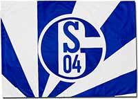 Флаг Шальке 90 х 60
