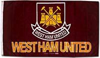 Флаг официальный Вест Хэм Юнайтед