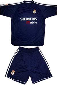 Форма темно-синяя Реал Siemens Mobile