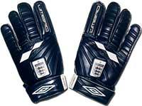 Перчатки вратарские юниорские Англия 07 Umbro синие