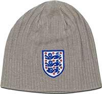 Шапочка серая Англия Kit 09 Umbro