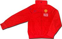 Куртка легкая Манчестер Юнайтед 08-09 Nike красная