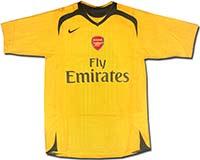 Майка выездная Арсенал 06-07 Nike