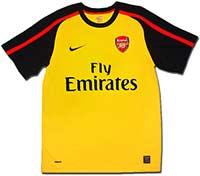 Майка выездная Арсенал 08-09 Nike