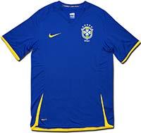 Майка выездная сборной Бразилии 08-10 Nike