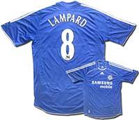 Майка домашняя Челси - Lampard 06-08 Adidas