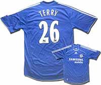 Майка домашняя Челси - Terry 06-08 Adidas.