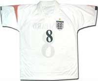Футболка сборной Англии белая