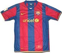Майка подростковая Барселона 07-08 Nike
