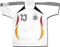 Футболка белая сборной Германии