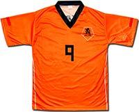 Футболка оранжевая Голландия 2010