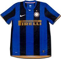 Майка домашняя Интер 08-09 Nike