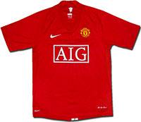 Майка подростковая Манчестер Юнайтед 07-09 Nike