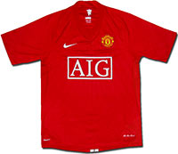 Майка домашняя Манчестер Юнайтед 07-09 Nike