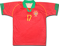 Футболка сборной Португалии.