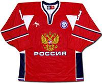 Свитер хоккейный сборной России 2010 Луч Реплика