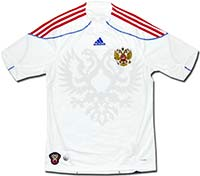 Майка выездная сборной России 09-10 Adidas
