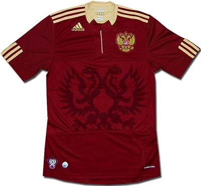 Майка подростковая сборной России 09-10 Adidas.