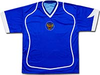 Футболка синяя сборной России