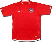 Майка сборной России красная 06-07 Nike