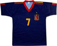 Футболка темно-синяя Испания 2010