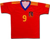 Футболка красная Испания 2010