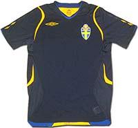 Майка выездная сборной Швеции 08-09 Umbro