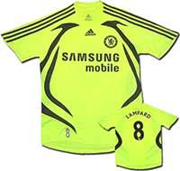 Майка выездная Челси - Lampard 07-08 Adidas