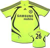 Майка выездная Челси - Terry 07-08 Adidas