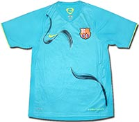 Майка тренировочная Барселона 08-09 Nike голубая