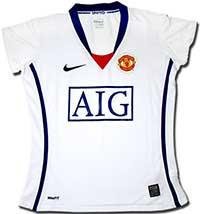 Майка женская Манчестер Юнайтед 08-09 Nike