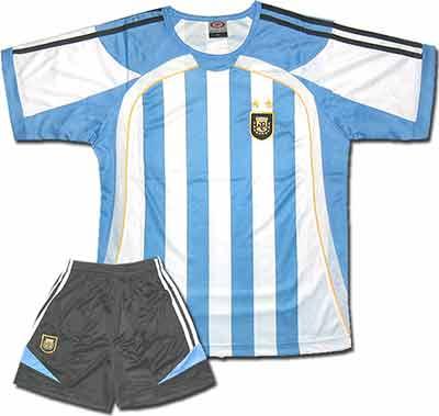 Форма сборной Аргентины.