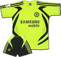 Форма желтая Челси Samsung Mobile