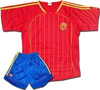 Форма сборной Испании